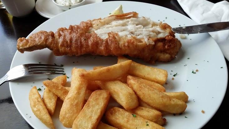 En inglaterra comen este pescado, no identificado, que en modo alguno lo recomiendo